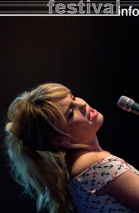 Foto Duffy op Rock Werchter 2008