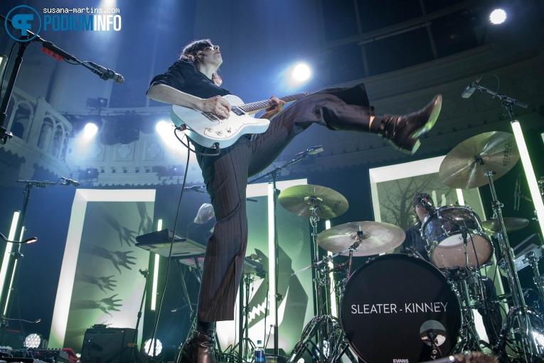 Sleater-Kinney op Sleater-Kinney - 19/02 - Paradiso foto