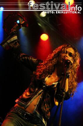 Foto Dana Fuchs op Bospop 2008