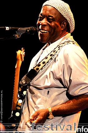 Buddy Guy op Bospop 2008 foto