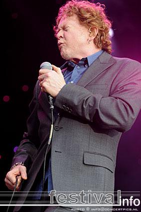 Hucknall op Bospop 2008 foto