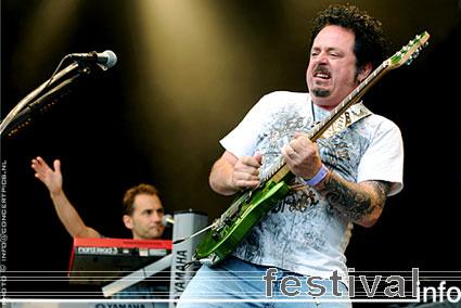 Foto Steve Lukather op Bospop 2008