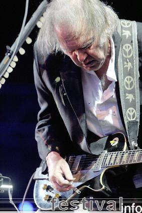 Foto Neil Young op Roskilde 2008