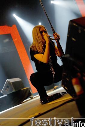 Foto Lykke Li op Roskilde 2008