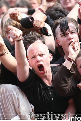 Foto Slayer op Roskilde 2008