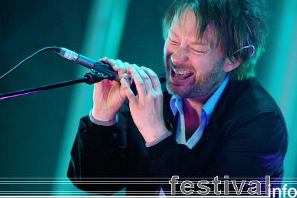 Foto Radiohead op Roskilde 2008