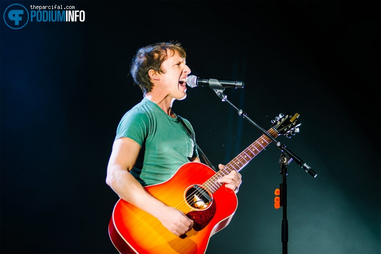 James Blunt op James Blunt - 28/02 - AFAS Live foto