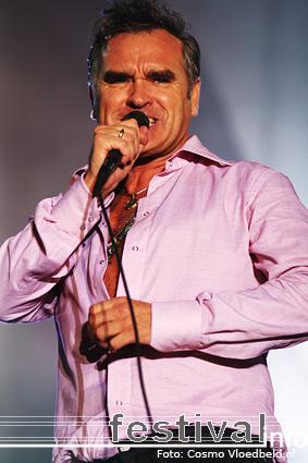 Morrissey op Benicàssim 2008 foto