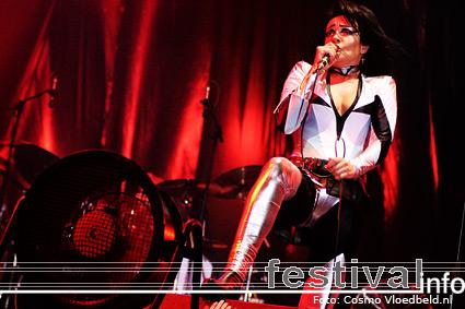 Siouxsie op Benicàssim 2008 foto