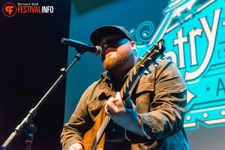 Austin Jenckes op Country To Country 2020 foto