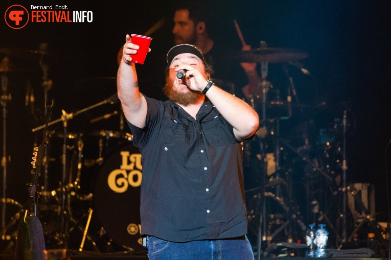 Luke Combs op Country To Country 2020 foto