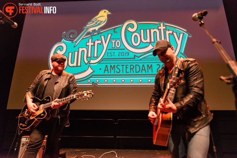 Tim Hicks op Country To Country 2020 foto