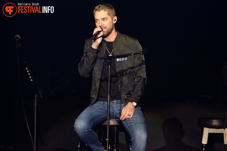 Brett Young op Country To Country 2020 foto