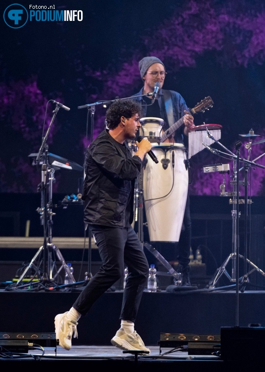 Nielson op Nielson Larger Than Live 09/07 Ziggo Dome foto