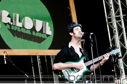 Foto G. Love & Special Sauce op Jack Johnson - 13/7 - Zuiderpark