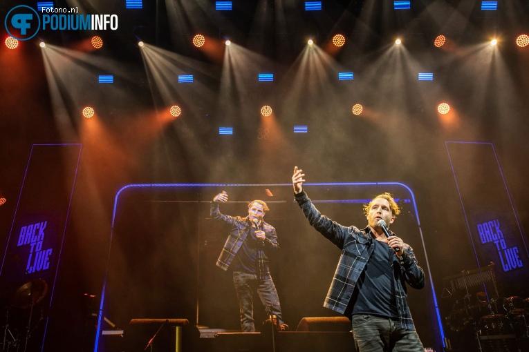Peter Pannekoek op Fieldlab concert André Hazes - 07/03 - Ziggo Dome foto