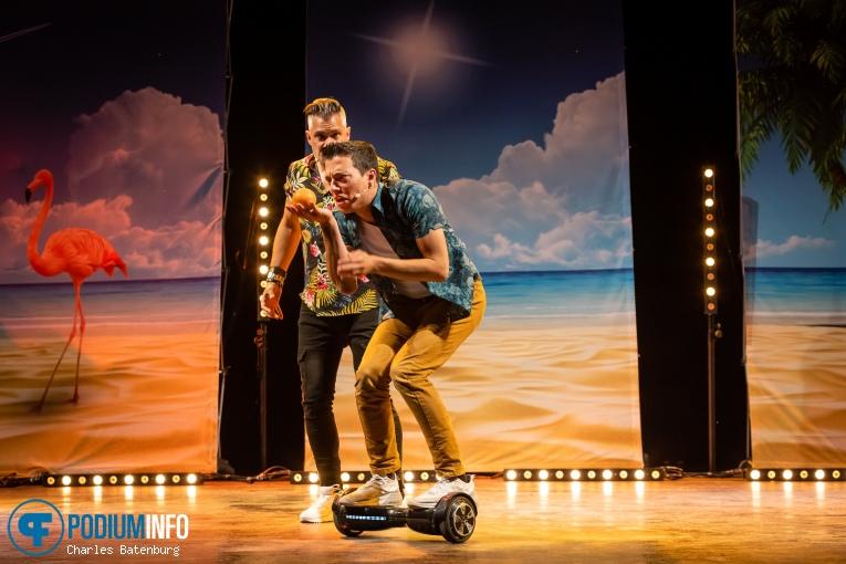 Andries Tunru op Andries Tunru/Guido Weijers/Ruud Smulders - 25/07 - Zuiderparktheater foto