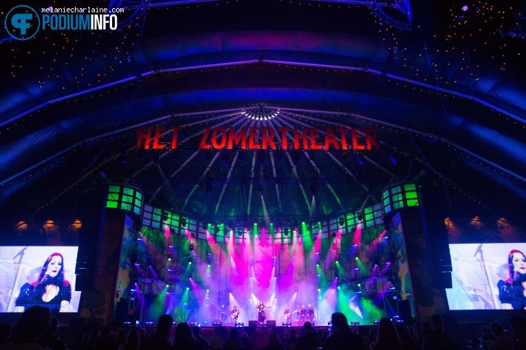 Floor Jansen op Floor Jansen - 15/07 - Het Zomer Theater foto
