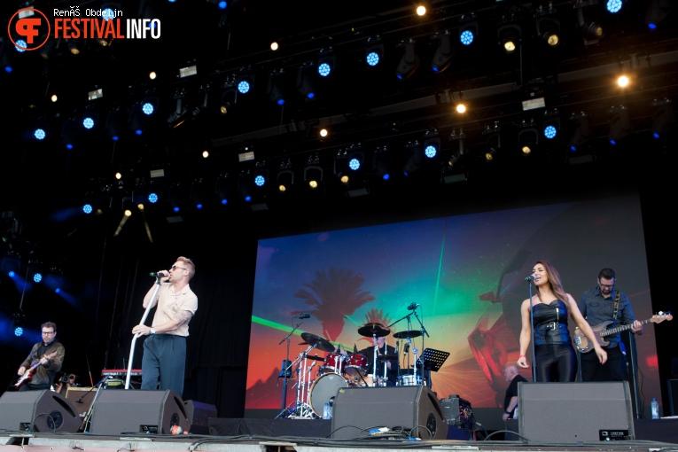 Ronan Keating op W-Fest 2021 foto