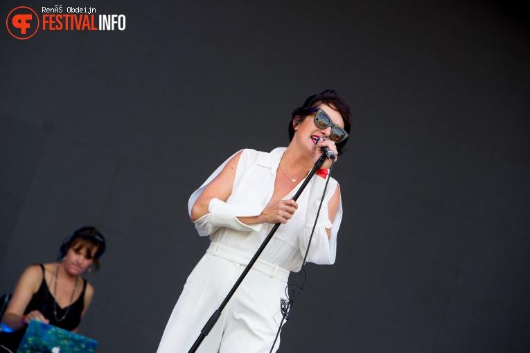 Kosheen op W-Fest 2021 foto