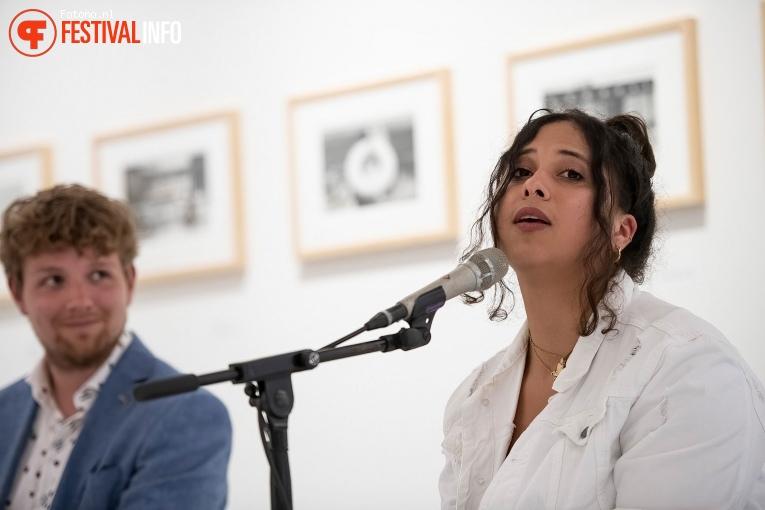 Jessy Yasmeen op Popronde Nijmegen 2021 foto