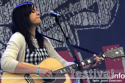Amy Macdonald op Pukkelpop 2008 foto