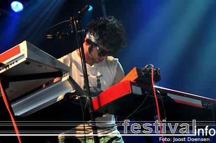 Foto MGMT op Pukkelpop 2008