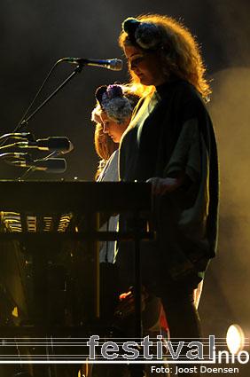 Foto Sigur Rós op Pukkelpop 2008