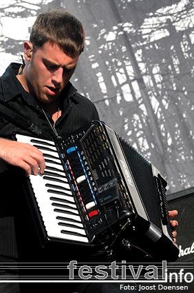 Dropkick Murphys op Pukkelpop 2008 foto