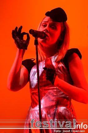 Róisín Murphy op Pukkelpop 2008 foto