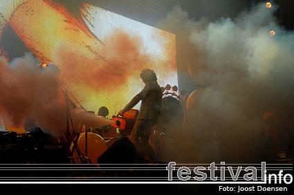 The Flaming Lips op Pukkelpop 2008 foto