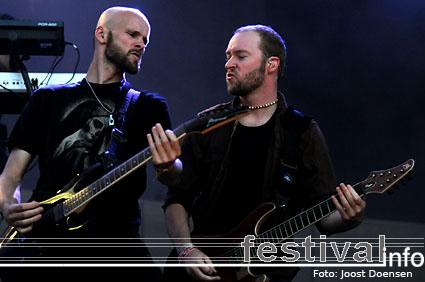 Within Temptation op Pukkelpop 2008 foto
