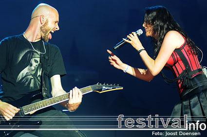 Foto Within Temptation op Pukkelpop 2008