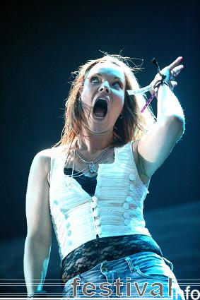 Foto Nightwish op Lowlands 2008