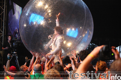 The Flaming Lips op Lowlands 2008 foto