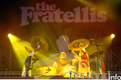 The Fratellis op Lowlands 2008 foto