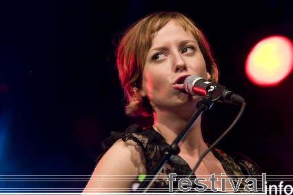 Stephanie Struijk op Huntenpop 2008 foto