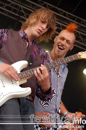 The Tommycats op Geuzenpop 2008 foto