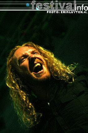 Dark Tranquillity op Loud From The South 2008 foto