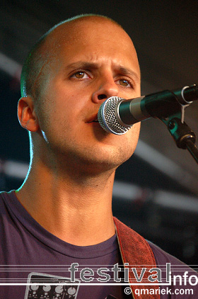 Milow op deBeschaving 2008 foto