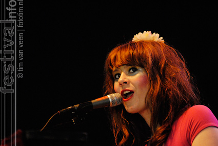 Kate Nash op deBeschaving 2008 foto