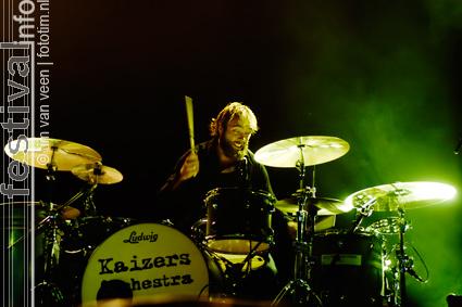 Kaizers Orchestra op deBeschaving 2008 foto