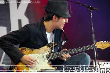 Scott McKeon op Bluesrock Festival Tegelen 2008 foto