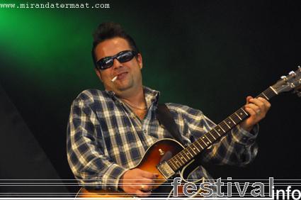 Bugaboo Tang op Bluesrock Festival Tegelen 2008 foto