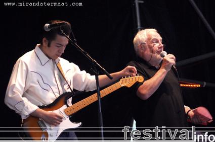 The Rhythm Chiefs op Bluesrock Festival Tegelen 2008 foto
