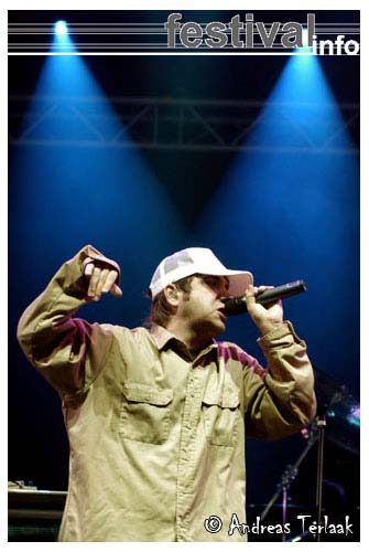 Foto The Bloodhound Gang op Lowlands 2004