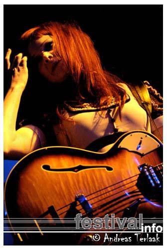 Foto Blanche op Lowlands 2004