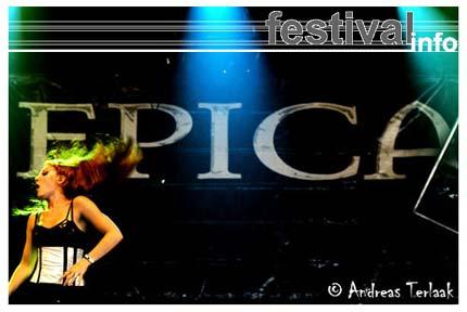 Epica op Lowlands 2004 foto