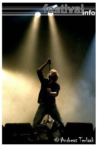 Foto Keane op Lowlands 2004