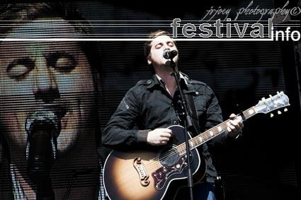 Tim Hughes op Xnoizz Flevo Festival 2008 foto